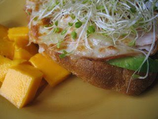 Open-faced Turkey Melt
