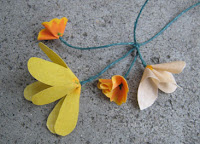Spring Flowers Necklace by Blissen