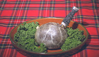 Haggis on January 25th
