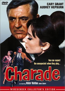Charade with Audrey Hepburn and Cary Grant