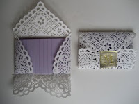 Homemade Doily and Magazine Envelopes