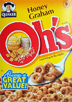 Quaker Honey Graham Oh's