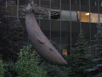 The Last Blue Whale in Anchorage, Alaska