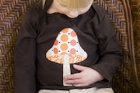 Mushroom T-Shirt by Mountain Aven Baby