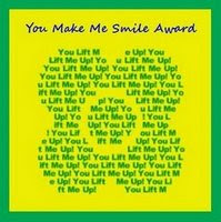You Make Me Smile Award