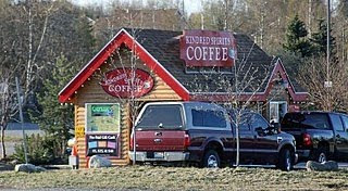 Alaskans and Their Coffee Stands