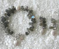 Labradorite Bracelet by jaC Jewelry