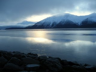 Cook Inlet in Alaska