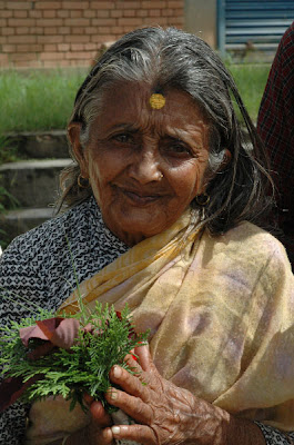 Beautiful Centenarian in India