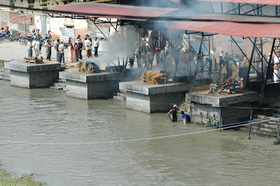 Funeral Pyres in India