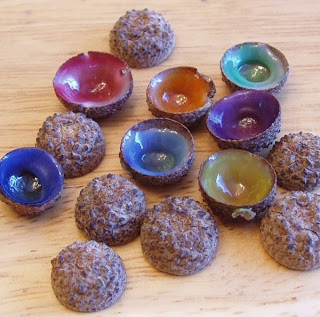 Colored Acorn Tops