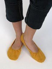 Knitted Ballet Flats