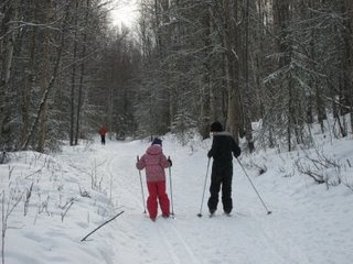 Cross Country Skiing at Campbell Creek Science Center