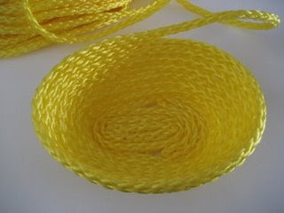 Coiled Rope Easter Baskets