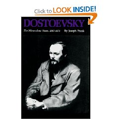 Frank's biography of Dostoevsky
