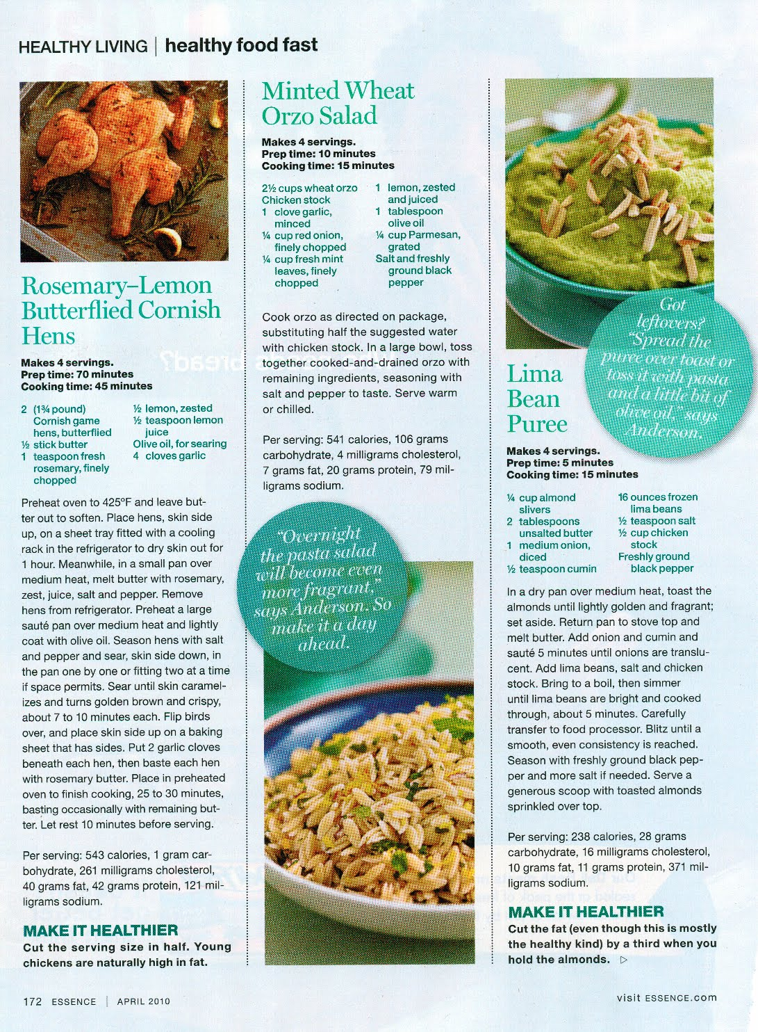 Sunny anderson warm and fuzzy spring tomorrow for Essence magazine recipes