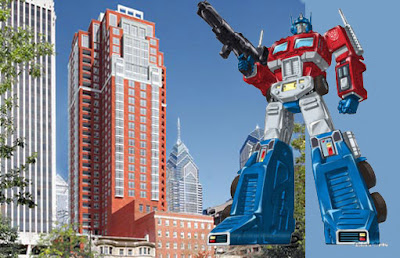 10 Rittenhouse Square vs. Optimus Prime