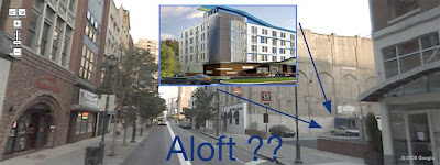 aloft hotel on chestnut street in philadelphia