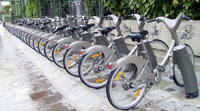 Vélib Bike-sharing in Paris