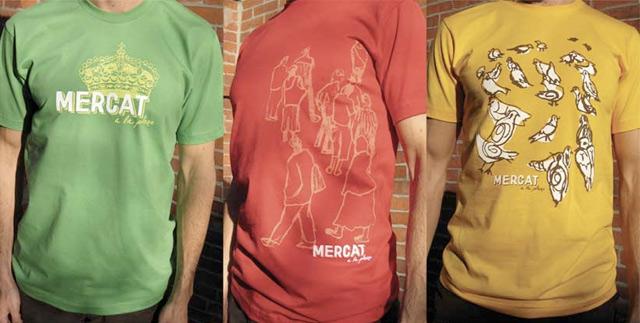 mercat a la planxa t shirts