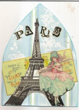 Paris in Turquoise