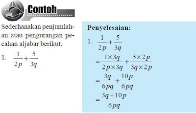 Pengenalan Bentuk dan Operasi Hitung Aljabar (MT 8-12)