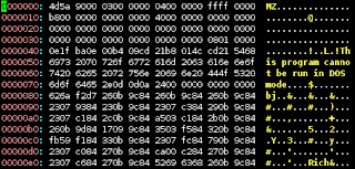 hex dump in vim (using xxd as in :help hex)