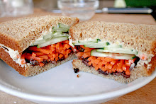 Hummus & Veggie Sandwich