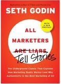 Picture of the book cover for All Marketers Tell Stories