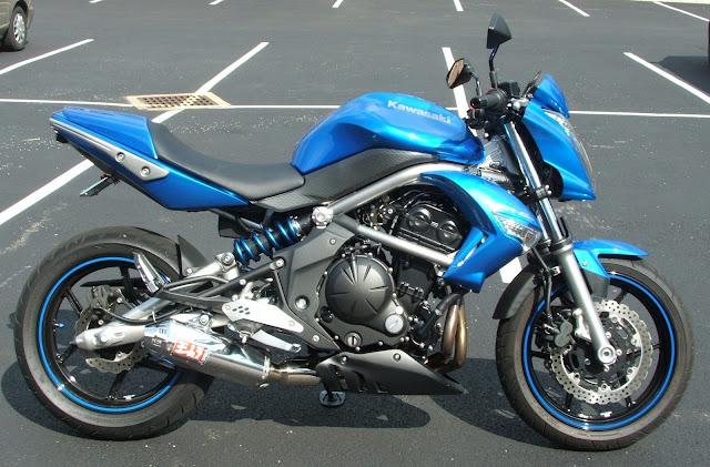 JL Motorcycles  Kawasaki ER6N