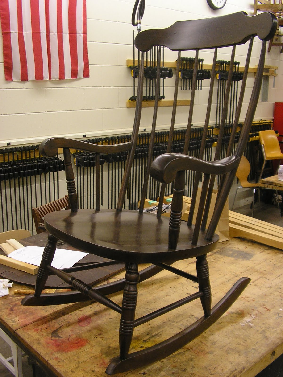 A Maple Rocking Chair Before... And After!