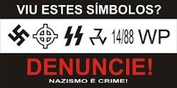 NAZISMO É CRIME!