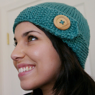 Robin's Egg Blue Hat by Rachel Iufer