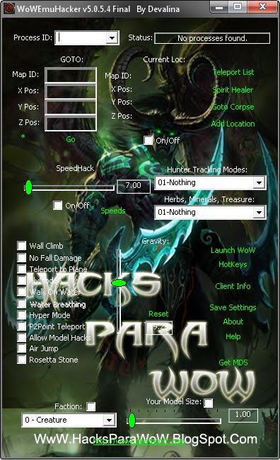 Hack De World Of Warcraft 335 Indetectable / No
