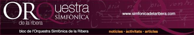 Bloc de l'Orquestra Simfònica de la Ribera