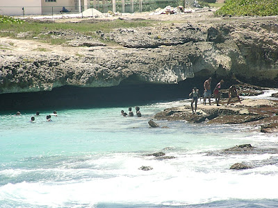 Shark Hole Barbados it is Called Shark's Hole