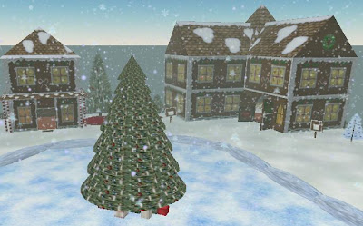 Second Life Christmas Village