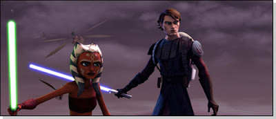 Anakin Skywalker and his Padawan, Ahsoka