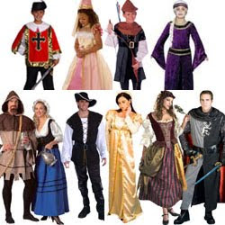 Renaissance Fair Costumes