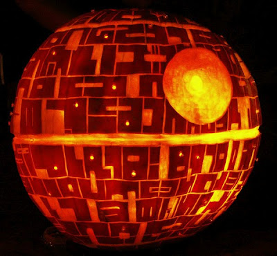 The Death Star Pumpkin!