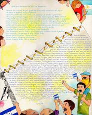 Hermosa correspondencia entre Argentina y Honduras
