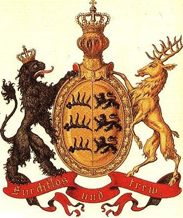 Wolfe coat of arms