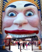 Luna Park entrance, photo from their website
