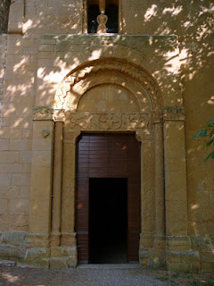 entrance to unnamed chapel