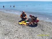 """Il progetto di salvamento di bagnanti e natanti denominato """"Mare sicuro . (foto mare sicuro)"""
