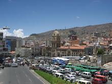 Bustling La Paz
