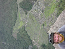 Dave at the Top of Waynu Picchu