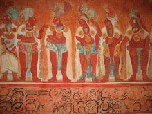 Mayan Wall Painting