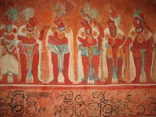 Mayan Wall Painting