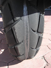 Slightly Worn Rear Tyre